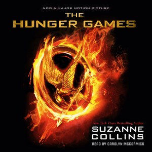 A review of the Hunger Games audiobook by Suzanne Collins, narrated by Carolyn McCormick